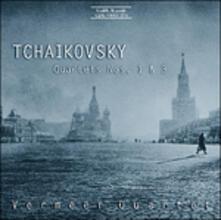 Quartetti per Archi N.1, N.3 - CD Audio di Pyotr Ilyich Tchaikovsky