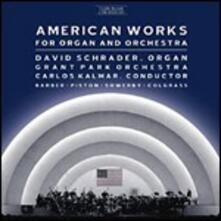 American Works for Organ and Orchestra - CD Audio