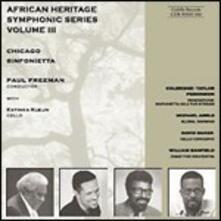 African Heritage Symphonic Series vol.3 - CD Audio