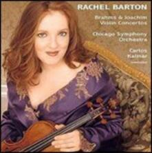 Concerti per violino - CD Audio di Johannes Brahms,Joseph Joachim,Rachel Barton