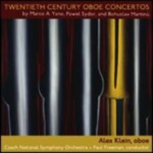 Twentieth Century Oboe Concertos. Concerto per Oboe - CD Audio di Bohuslav Martinu