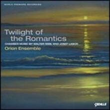Twilight of the Romantics..quartetto per Clarinetto Op.1 - CD Audio di Walter Rabl