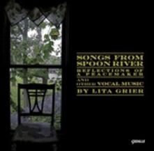 Songs from Spoon River - 5 Songs for Children - Sneezles - CD Audio di Lita Grier
