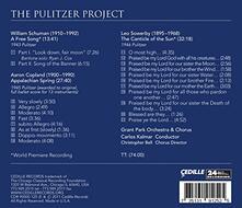 The Pulitzer Project - a Free Song - CD Audio di William Schuman,Carlos Kalmar
