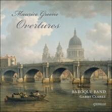 Overtures - CD Audio di Maurice Greene