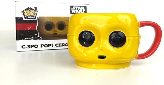 Tazza Star Wars Pop Home Mug Resistance E7 Tfa C-3Po Funko