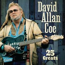 25 Greats - CD Audio di David Allan Coe