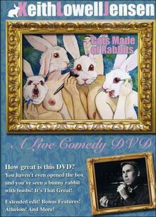 Keith Lowell Jensen. Cats Made Of Rabbits - DVD