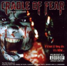 Cradle of Fear (Colonna Sonora) - CD Audio
