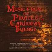CD Music from the Pirates of the Caribbean Trilogy (Colonna Sonora) Hans Zimmer Klaus Badelt Orchestra Filarmonica di Praga
