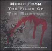 CD Music from the Films of Tim Burton (Colonna Sonora) City of Prague Philharmonic Orchestra