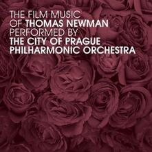 The Film Music of Thomas Newman (Colonna Sonora) - CD Audio di Thomas Newman,City of Prague Philharmonic Orchestra