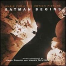 Batman Begins (Colonna Sonora) - CD Audio di Hans Zimmer,James Newton-Howard