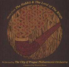 Music From. The Hobbit & the Lord of the Rings (Colonna Sonora) - CD Audio di Howard Shore,City of Prague Philharmonic Orchestra