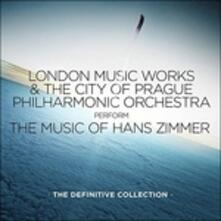 The Definitive Collection (Colonna Sonora) - CD Audio di Hans Zimmer,City of Prague Philharmonic Orchestra,London Music Works