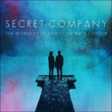 The World Lit Up and Filled with Colour (Coloured Vinyl) - Vinile LP di Secret Company