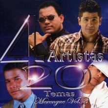 4 Artistas 20 Temas - CD Audio