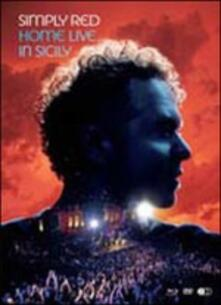 Home Live in Sicily - CD Audio + DVD + Blu-ray di Simply Red