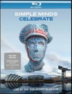 Simple Minds. Celebrate. Live at the Sse Hydro Glasgow - Blu-ray