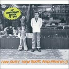New Boots and Panties! - CD Audio + DVD di Ian Dury