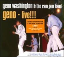 Live. The Hit Albums - CD Audio di Geno Washington