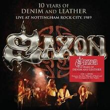 Under the Sign of Hell - CD Audio + DVD di Saxon