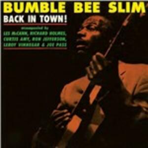 Back in Town - Vinile LP di Bumble Bee Slim