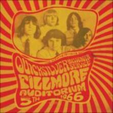Fillmore Auditorium - Vinile LP di Quicksilver Messenger Service
