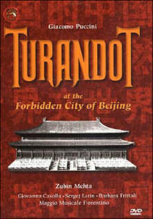Puccini Giacomo. Turandot nella città proibita di Hugo Kach - DVD