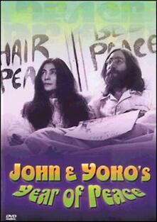 John and Yoko's Year of Peace (DVD) - DVD di John Lennon,Yoko Ono