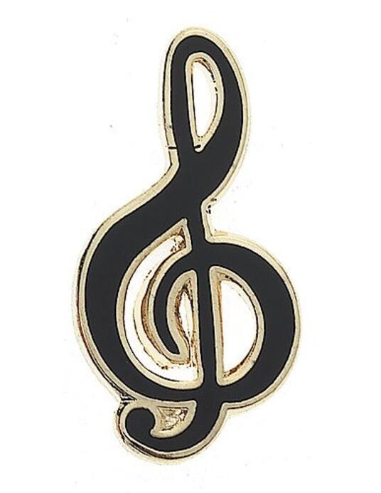 Spilla Chiave Di Violino