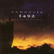 1492: La conquista del Paradiso - CD Audio di Vangelis