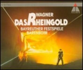 L'oro del Reno (Das Rheingold) - CD Audio di Richard Wagner,Daniel Barenboim
