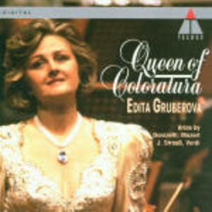 La regina della coloratura - CD Audio di Edita Gruberova