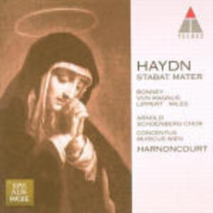 Stabat Mater - CD Audio di Franz Joseph Haydn,Nikolaus Harnoncourt,Concentus Musicus Wien