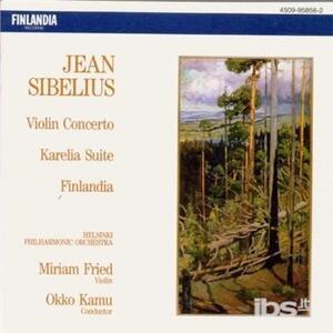 Concerto per Violino - Karelia Suite - CD Audio di Jean Sibelius