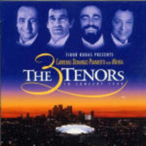 The Three Tenors. Carreras Domingo Pavarotti 1994 - CD Audio di Placido Domingo,Luciano Pavarotti,José Carreras,Zubin Mehta