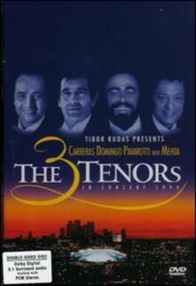 The Three Tenors in Concert. Pavarotti, Domingo, Carreras and Mehta di William Cosel - DVD