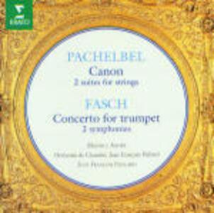 Canone e giga e altri brani - CD Audio di Johann Pachelbel,Johann Friedrich Fasch