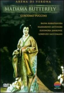 Giacomo Puccini. Madama Butterfly di Giulio Chazalettes - DVD