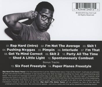 Rap Hard (The Demo Years) - CD Audio di Kid Cudi - 2