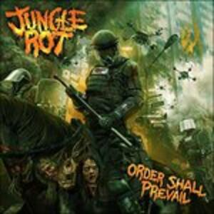 Order Shall Prevail - CD Audio di Jungle Rot