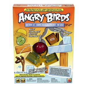 Giocattolo Angry Birds on Thin Ice Mattel 0