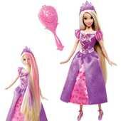 Giocattolo Rapunzel magica chioma Mattel