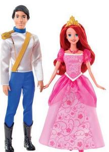 Giocattolo Ariel & Eric giorno romantico Mattel 0