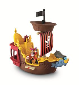 Giocattolo La nave dei pirati Jolly Roger Fisher Price 0