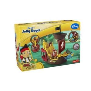 Giocattolo La nave dei pirati Jolly Roger Fisher Price 3