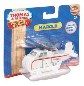 Giocattolo Mattel Y4077. Thomas and Friends. Wooden Railway. Harold Mattel