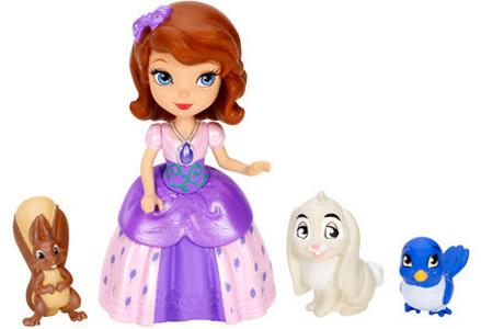 Giocattolo Sofia e gli animali Mattel