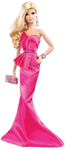 Giocattolo Barbie Red Carpet. Pink Gown Mattel